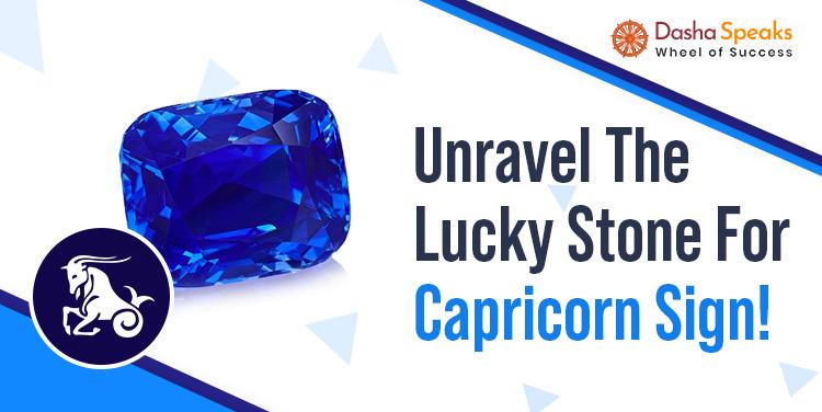 Best Gemstone for Capricorn Zodiac (Makar Rashi) - Lucky Stone