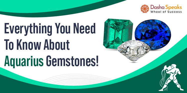 Best Gemstone for Aquarius Zodiac Sign - Kumbh Rashi Lucky Stone