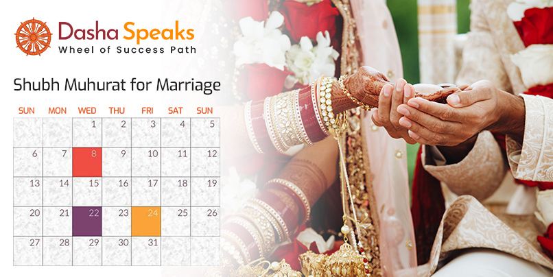 Shubh Vivah Muhurat - Auspicious Marriage Dates in 2021