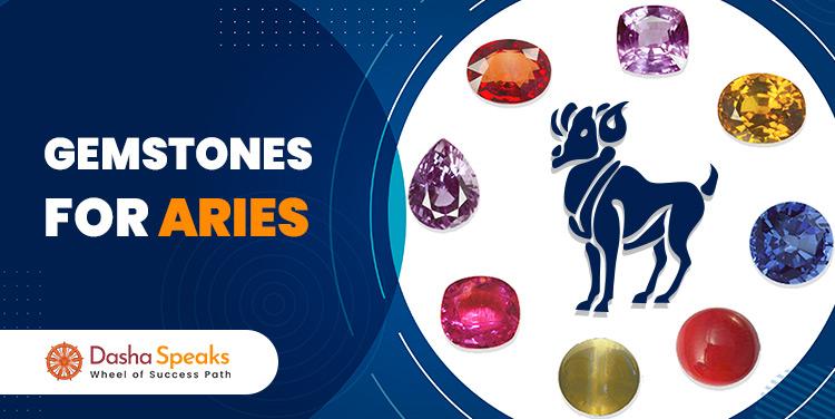 Best Gemstone for Aries Zodiac (Mesh Rashi) - Lucky Stone